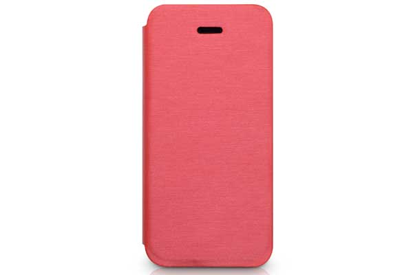 Kajsa iPhone 5/5S/SE Flip-Case °Metallic Collection°, rot