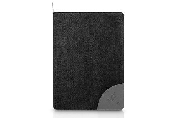 Kajsa iPad Mini / Mini 2 Flip-Case °Denim Collection°, schwarz