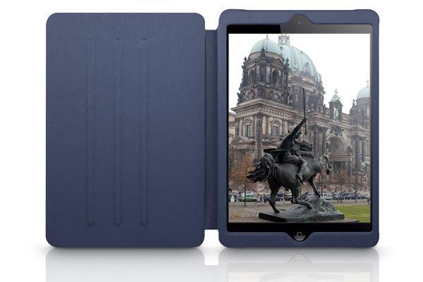 Kajsa iPad Air/Air 2 Flip-Case METALLIC COLLECTION, blau