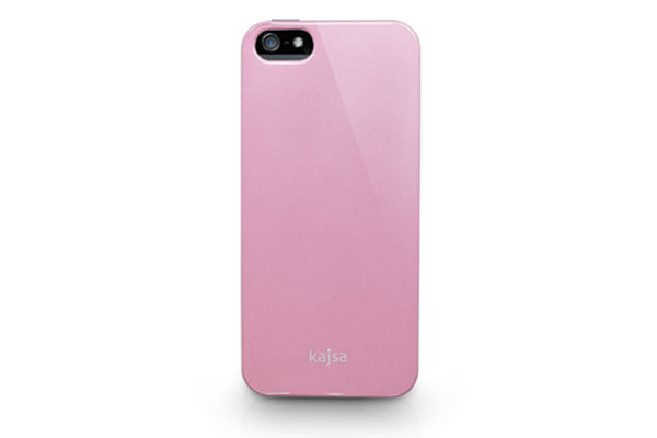 Kajsa iPhone 5/5S/SE Hardshell-Back-Cover °Metallic Colorful Collection°, rosa