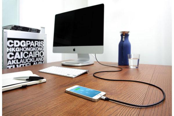 Just Mobile Ladekabel für alle iPhones mit Lightning, 150cm