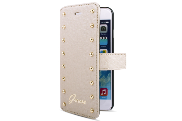 GUESS iPhone 6/6S Booktype-Case, beige