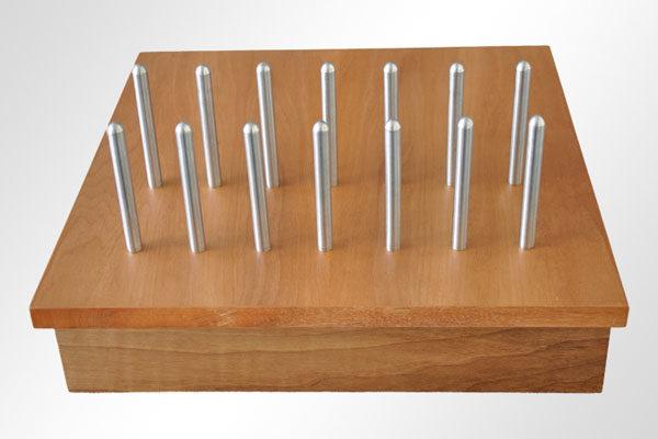 """Bridge94 Holz-Ladestation """"Nussbaum"""" für iPhone, iPad, Samsung und andere Geräte mit USB-Ladekabel"""