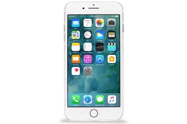 Artwizz NoCase - Ultradünne, widerstandsfähige Schutzhülle aus TPU mit hoher UV Resistenz für iPhone 7 Plus, transparent