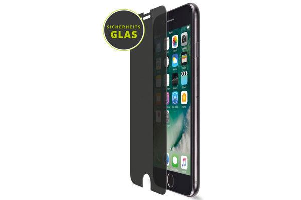 Artwizz PrivacyFilm Displayschutzfolie mit Sichtschutz für iPhone 6/6S und iPhone 7, transparent
