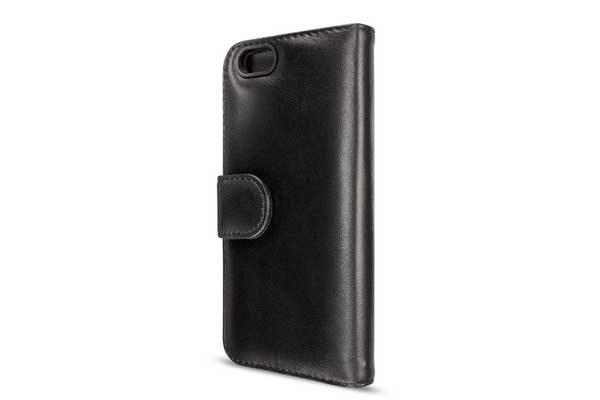 Artwizz SeeJacket Leather - Feinstes Lederetui mit Magnetverschluss für iPhone 7, schwarz