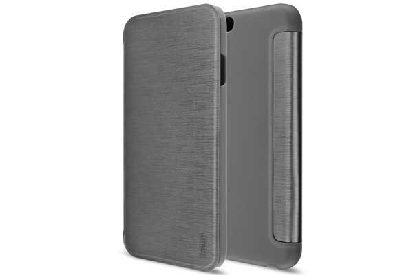Artwizz SmartJacket - Elegante Hülle mit Frontcover für iPhone 7/8 Plus, dunkelgrau 1