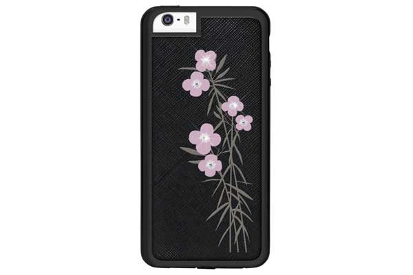 Bling my Thing iPhone 6/6s Backcover mit Blumenmuster und Swarovski-Kristallen