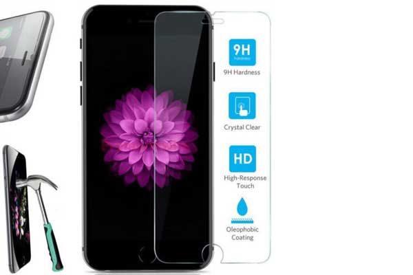 Bridge iPhone 7 Plus Tempered Glass Screen Protector - Display-Schutzglas 9H
