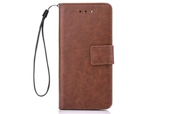 Bridge94 iPhone 7 Plus PU-Leder Wallet, braun