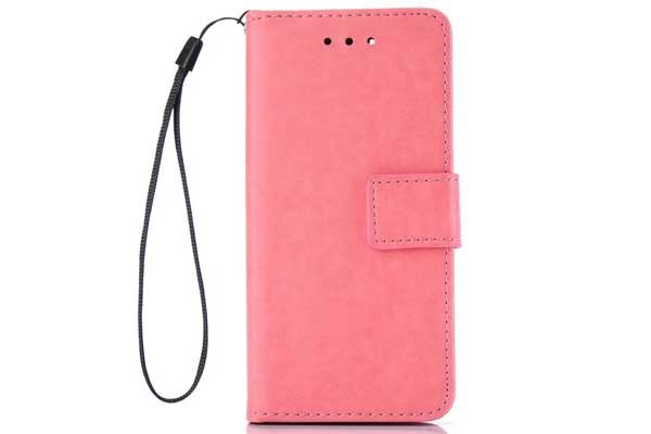 Bridge94 iPhone 7 Plus PU-Leder Wallet, rosa