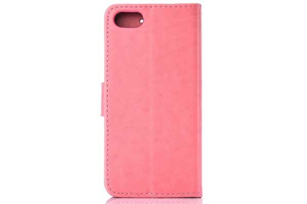 Bridge94 iPhone 7 PU-Leder Wallet, rosa