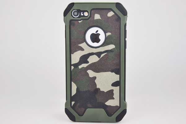 Bridge94 iPhone 7 Shockproof Hybrid-Hard-Case Military, Camouflage