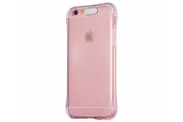 Bridge94 iPhone 7 Shockproof TPU Backcover mit Lichtfunktion für eingehende Anrufe, pink