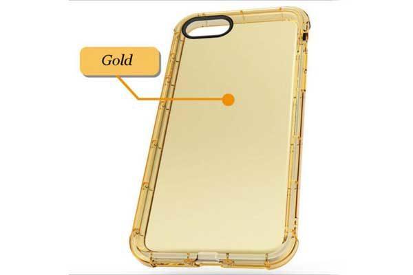 Bridge94 iPhone 7 Schockproof-Backcover, gold