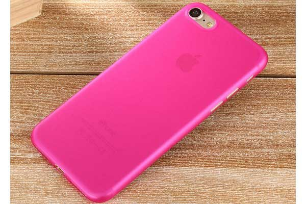 Bridge94 iPhone 7 Ultradünnes TPU Backcover, pink