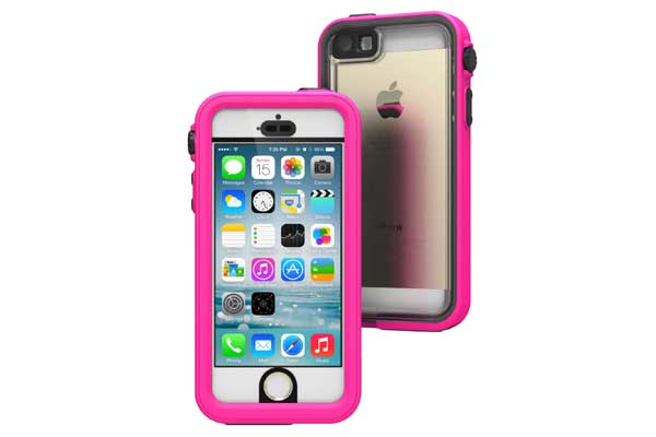 Catalyst - Wasserdichtes (5m) und Shock Resistentes Case (2m) für iPhone 5/5S/SE, pink
