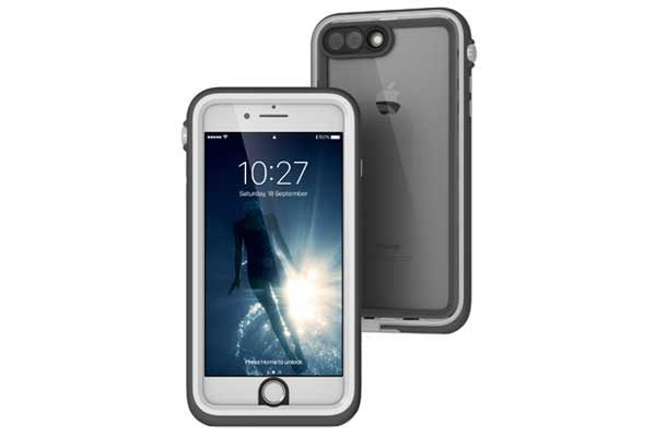 Catalyst - Wasserdichtes (10m) und schockresistentes Schutzcase (2m) für iPhone 7 Plus, weiss