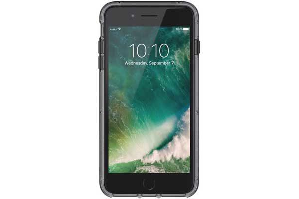 Griffin Survivor Clear Backcover für das iPhone 6 Plus/6S Plus/7 Plus, grau-schwarz