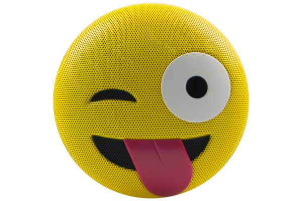 HMDX JAM Jamoji JK Winking and Tongue Out - Bluetooth Lautsprecher in lustiger Emoticon Form