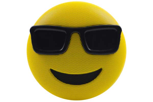 HMDX JAM Jamoji 2 Cool Sunglass Speaker - Bluetooth Lautsprecher in lustiger Emoticon Form