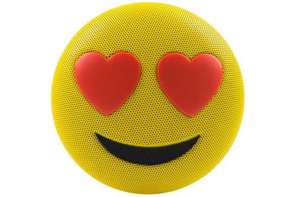 HMDX JAM Jamoji Love Struck Speaker - Bluetooth Lautsprecher in lustiger Emoticon Form