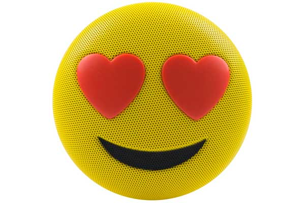 HMDX JAM Jamoji Love Struck Speaker - Bluetooth Lautsprecher in lustiger Emoticon Form