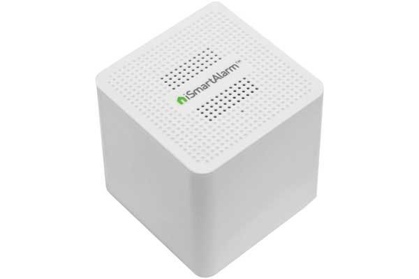 iSmartAlarm Satellitensirene - Zusätzliche Sirene für iSmartAlarm Überwachungssystem, weiss