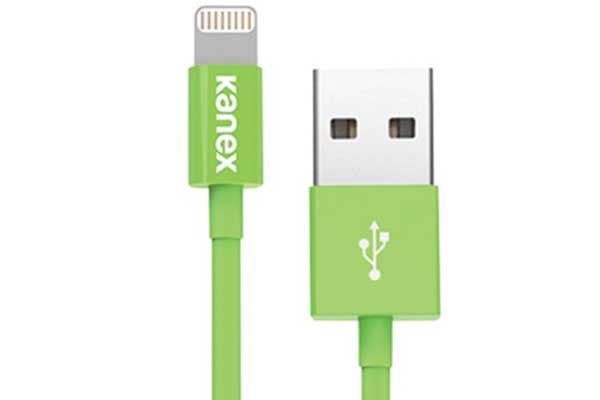Kanex USB zu Lightning Connector Kabel 1.2m, grün