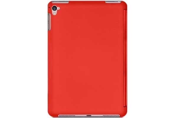 """Macally Bookstand - Hochwertige Schutzhülle mit Stand- und Magnetfunktion für iPad Air 2/iPad Pro 9.7"""", rot"""