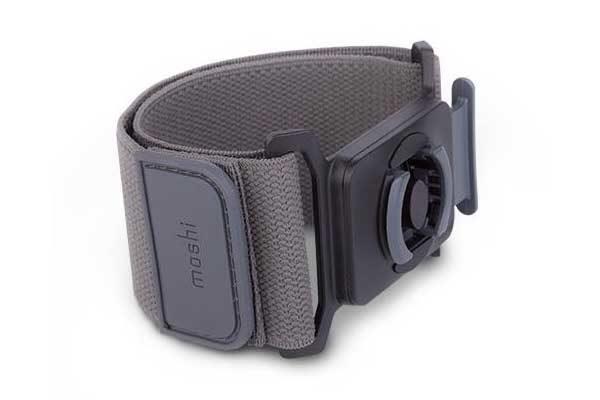Moshi Armband RUNNING KIT mit Case für iPhone 7- Perfekt für den Sport, schwarz