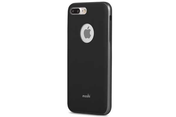 Moshi iGlaze - Edles Hardcase für iPhone 7 Plus, schwarz