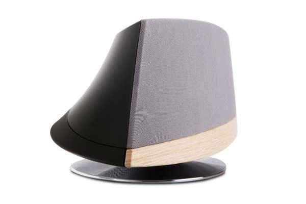 Moshi Spatia - Hochwertig verarbeitetes und elegantes AirPlay Soundsystem mit High Fidelity Sound (5 Driver), grau-schwarz