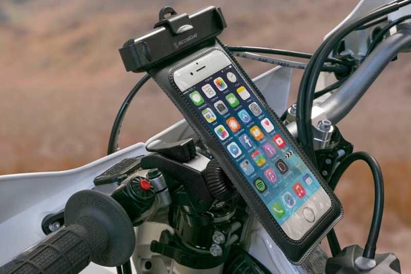 """Scosche MagicMOUNT Pro Handlet H2O - Wasserdichte Halterung fürs Motorrad für alle iPhones bis 5.5"""", schwarz"""