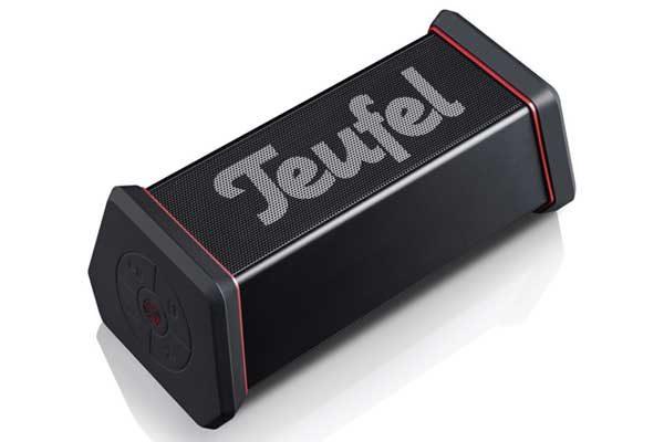 Teufel Rockster XS - Mobiler Bluetooth Stereo Speaker aus massivem Aluminium für den Outdoor Einsatz, schwarz