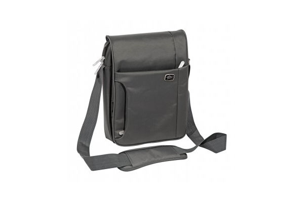 WEDO Tablet Crossover Tasche, hoch, anthrazit