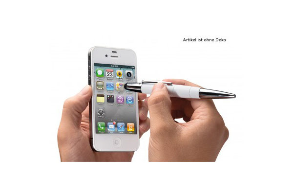 WEDO Touch Pen Pioneer 2-in-1, weiss