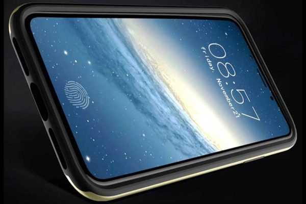 Bridge94 iPhone X Shockproof Backcover mit Displayschutz und Double Layer