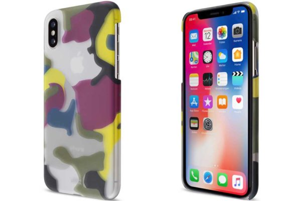 Artwizz iPhone X Camouflage Backcover, Color