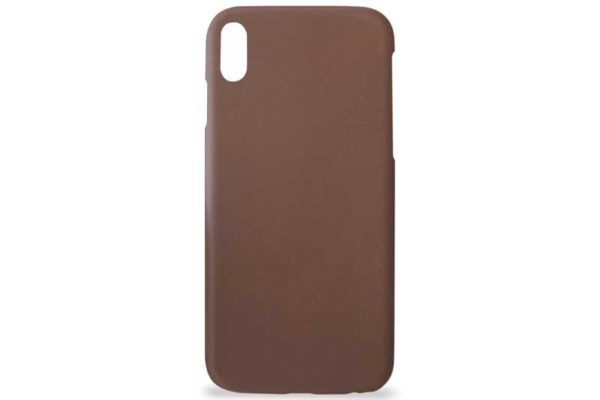 Artwizz iPhone X Leather Clip Leder Backcover / Case / Rückseitenschutz, braun