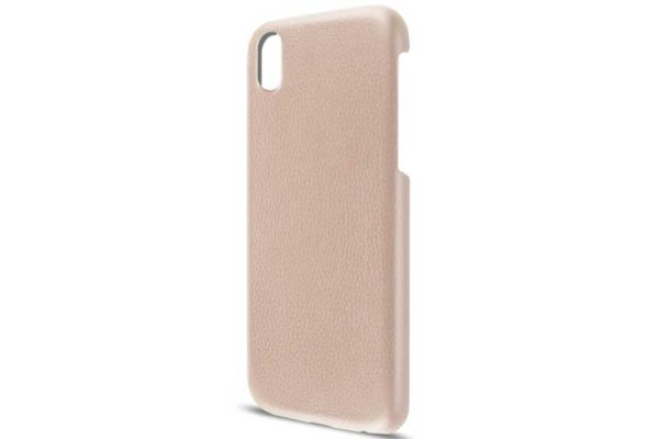 Artwizz iPhone X Leather Clip Leder Backcover / Case / Rückseitenschutz, nude