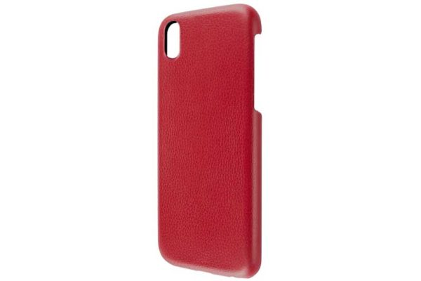 Artwizz iPhone X Leather Clip Leder Backcover / Case / Rückseitenschutz, rot