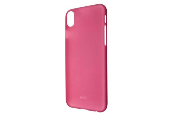 Artwizz iPhone X Rubber Clip Case / Backcover / Rückseitenschutz, Berry