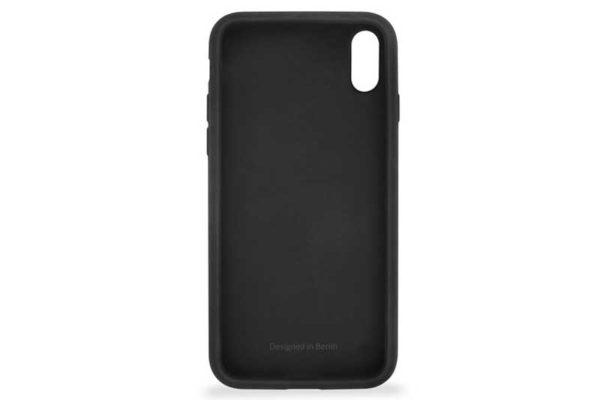 Artwizz iPhone X Silicone Case / Backcover / Rückseitenschutz aus weichem Silikon, schwarz
