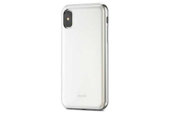 Moshi iGlaze iPhone X - Hardcase / Backcover, Pearl White