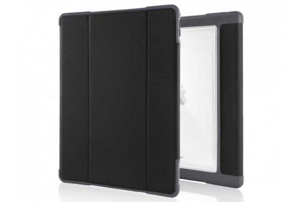 """STM Dux Plus - Schock resistentes Case für iPad Pro 12.9"""" mit verstärktem Eckschutz, schwarz-transparent"""
