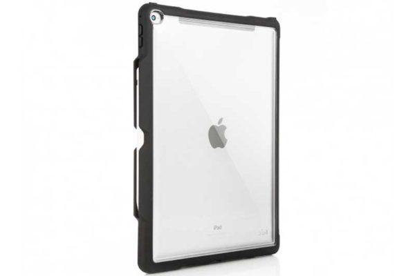 """STM Dux Shell - Edles Transparentes Case für iPad Pro 12.9"""" (2017), schwarz-transparent"""