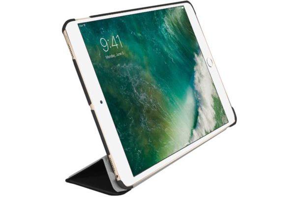 """Macally Bookstand iPad Pro 10.5"""" - Hochwertige Schutzhülle mit Stand- und Sleep-/Wake-Funktion, schwarz"""