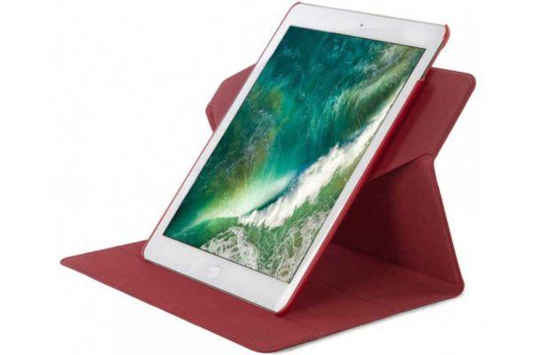 """Tucano Cosmo iPad Pro 10.5"""" - Folio Case mit Stand- und raffinierter 360° Drehfunktion inkl. Halter für Apple Pencil, rot"""