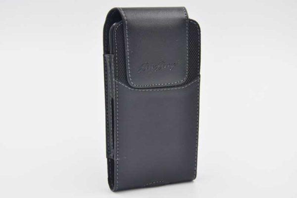 Bridge94 iPhone 6/7/8/X Gürtelholster-Tasche vertikal, schwarz
